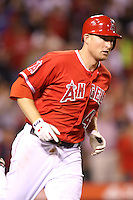 05/29/12 Anaheim, CA: Los Angeles Angels third baseman Mark Trumbo #44 during an MLB game played between the New York Yankees and the Los Angeles Angels at Angel Stadium. The Angels defeated the Yankees 5-1.