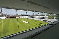 General view of the ground from the media centre ahead of Middlesex CCC vs Essex CCC, Specsavers County Championship Division 1 Cricket at Lord's Cricket Ground on 23rd April 2017