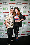 """Nick Noonan and Amy Heidemann  Attend Special private concert event, sponsored by Garnier Fructis to celebrate Rolling Stone's """"Women Who Rock"""" issue and contest at The Hard Rock Cafe, NY  10/16/12"""