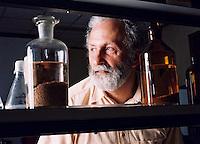 Alexandre Quinatnilha, cientist, al is lab in IBMC. Porto, Portugal.