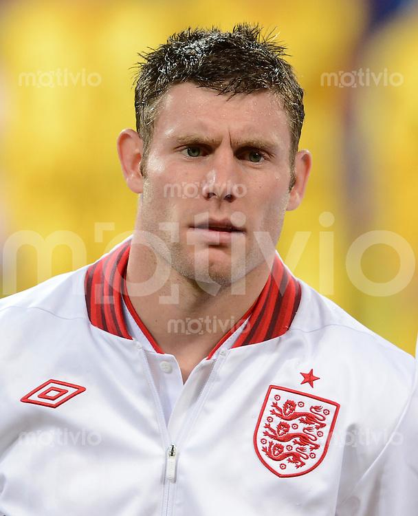 FUSSBALL  EUROPAMEISTERSCHAFT 2012   VIERTELFINALE England - Italien                     24.06.2012 James Milner (England)