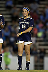 22 October 2015: Notre Dame's Sandra Yu. The University of North Carolina Tar Heels hosted the Notre Dame University Fighting Irish at Fetzer Field in Chapel Hill, NC in a 2015 NCAA Division I Women's Soccer game. UNC won the game 2-1.
