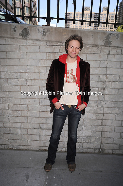 Van Hansis of As The World Turns..at the Daytime Emmy Nominations on April 30, 2008 at the..ABC Studio in New York City.....Robin Platzer, Twin Images