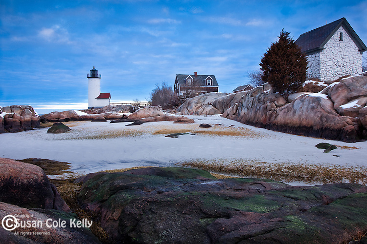 Annisquam Light in Gloucester, Cape Ann, MA, USA