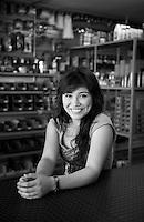 Jenifer Esther Sotelo Traslauiña. Hardware store owners in Culiacan, Sinaloa,  Mexico