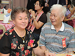 Taiwanese Wedding -- Proud parents of the bride.