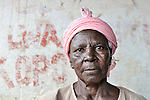A woman in the Congolese town of Kamina.