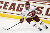 Patrick Brown (BC - 23) - The Boston College Eagles defeated the visiting University of Maine Black Bears 4-1 on Sunday, November 21, 2010, at Conte Forum in Chestnut Hill, Massachusetts.