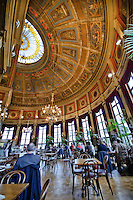 De Foyer Restaurant in Antwerp, Belgium is located inside the Bourla theatre.