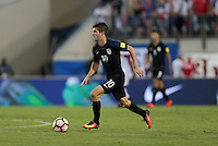 Jacksonville, FL - September 6, 2016: The U.S. Men's National team go up 4-0 over Trinidad & Tobago with Christian Pulisic contributing an assist during a World Cup Qualifier (WCQ) match at EverBank Field.