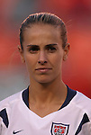 16 October 2004, Heather Mitts of the U.S. Women's National Team in their 1-0 defeat of Mexico at Arrowhead Stadium, Kansas City, Missouri..