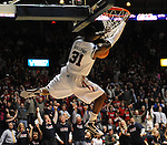 Mississippi's Murphy Holloway (31) dunks vs. Mississippi State at the C.M. &quot;Tad&quot; Smith Coliseum in Oxford, Miss. on Wednesday, January 18, 2012. Mississippi won 75-68. (AP Photo/Oxford Eagle, Bruce Newman).