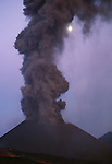 Mount Etna summit vent, Sicily, Italy