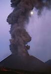 Mount Etna summit vent, Sicily, Italy