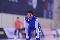 SPEED SKATING: SALT LAKE CITY: 19-11-2015, Utah Olympic Oval, ISU World Cup, training, Brittany Bowe (USA), ©foto Martin de Jong