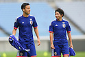 Football/Soccer: Japan national team official training session