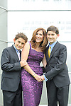Congregation Sons of Israel, Bar Mitzvah photographs, Jason and family on the bimah and Temple grounds