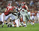 Ole Miss vs. Alabama at Bryant-Denny Stadium in Tuscaloosa, Ala. on Saturday, September 29, 2012. Alabama won 33-14. Ole Miss falls to 3-2.
