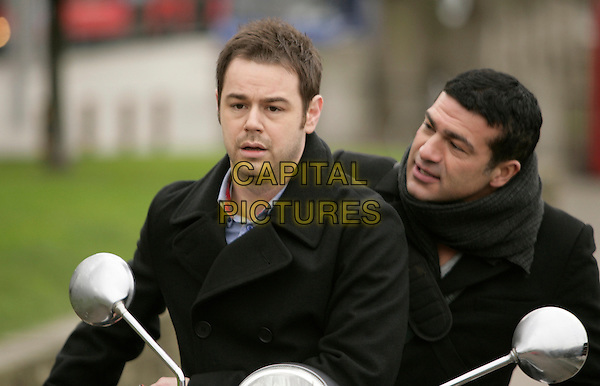 Danny Dyer, Tamer Hassan<br /> in Dead Man Running (2009) <br /> *Filmstill - Editorial Use Only*<br /> CAP/NFS<br /> Image supplied by Capital Pictures