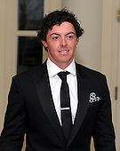 Rory McIlroy, Professional Golfer, arrives for the Official Dinner in honor of Prime Minister David Cameron of Great Britain and his wife, Samantha, at the White House in Washington, D.C. on Tuesday, March 14, 2012..Credit: Ron Sachs / CNP.(RESTRICTION: NO New York or New Jersey Newspapers or newspapers within a 75 mile radius of New York City)