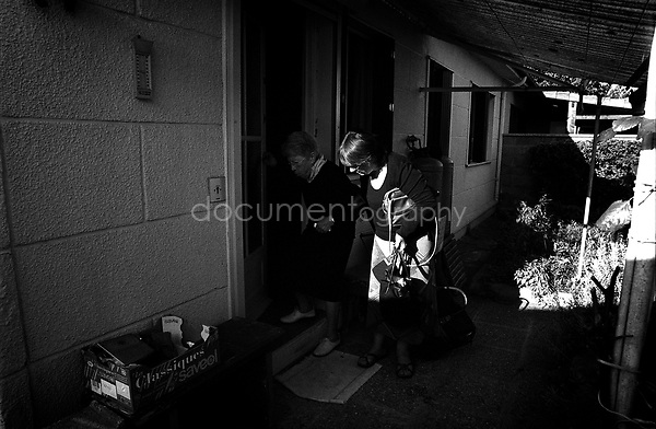 My grandmother leaves for the hospital and is unsure if she will return...© Magali Corouge/Documentography.2004-2006.France