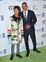 BURBANK, CA. October 22, 2016: Will Smith &amp; Jaden Smith at the 26th Annual Environmental Media Awards at Warner Bros. Studios, Burbank.<br /> Picture: Paul Smith/Featureflash/SilverHub 0208 004 5359/ 07711 972644 Editors@silverhubmedia.com