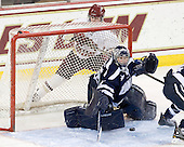 Taylor Wasylk (BC - 9), Kayley Herman (UNH - 31) - The Boston College Eagles and the visiting University of New Hampshire Wildcats played to a scoreless tie in BC's senior game on Saturday, February 19, 2011, at Conte Forum in Chestnut Hill, Massachusetts.