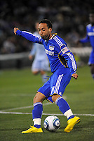 Ryan Smith...Kansas City Wizards defeated Colorado Rapids 1-0 at Community America Ballpark, Kansas City,Kansas.