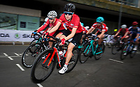 Picture by Alex Whitehead/SWpix.com - 11/05/2017 - Cycling - Tour Series Round 2, Stoke-on-Trent - Matrix Fitness Grand Prix Series - Team Breeze's Elinor Barker in action.