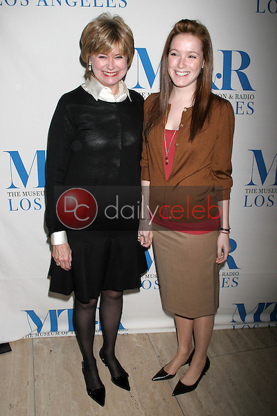 Jane Pauley and daughter Rachel<br />at the Museum of Television and Radio's Presentation of &quot;She Made It: Women Creating Television and Radio&quot;. Museum of Television and Radio, Los Angeles, CA. 12-05-06<br />Dave Edwards/DailyCeleb.com 818-249-4998