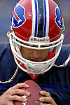 24 December 2006: Buffalo Bills quarterback J.P. Losman warms up prior to a game against the Tennessee Titans at Ralph Wilson Stadium in Orchard Park, New York. The Titans edged out the Bills 30-29.&amp;#xA; &amp;#xA;Mandatory Photo Credit: Ed Wolfstein Photo<br />