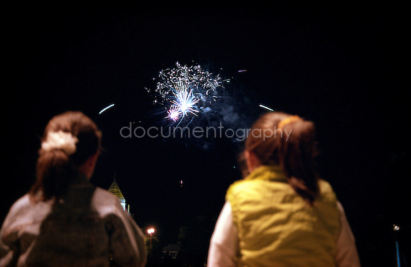 firework in Stepanakert