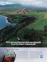 American Express, Kauai, Hawaii, airport, travel insurance, Aerial