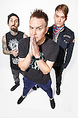 May 23, 2016: BLINK-182 - New Line-up Photosession in London