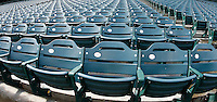 May 5, 2007: Panoramic view of seats inside the stadium before the Chicago White Sox defeated the Los Angeles Angels of Anaheim 6-3 at Anaheim Stadium in Anaheim, CA.