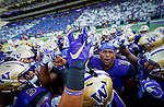The University of Washington football team plays Stanford University in Seattle on September 29, 2016. (Photography by Scott Eklund/Red Box Pictures)
