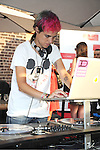 DJ Samantha Ronson attends the official launch of www.findyourfacemate.com which was hosted by Maria Menounos on July 10, 2012 at STK Rooftop in New York City.