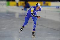 SCHAATSEN: HEERENVEEN: 05-02-2017, KPN NK Junioren, Junioren B Heren 3000m, Jesse Stam, ©foto Martin de Jong SCHAATSEN: HEERENVEEN: 05-02-2017, KPN NK Junioren, ©foto Martin de Jong