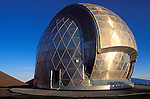 The Caltech Submillimeter Observatory on the summit of Mauna Kea at 13,800 feet, The Big Island, Hawaii USA