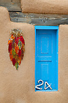 Blue window in Taos.