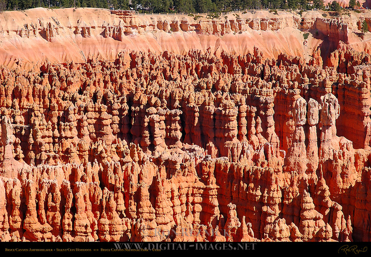 Bryce Canyon Amphitheater, Silent City Hoodoos, Bryce Canyon National Park, Utah