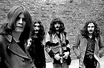 Black Sabbath 1970 Ozzy Osbourne Bill Ward Geezer Butler and Tony Iommi <br /> &copy; Chris Walter