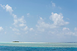 Munafushi Kandu, Laamu Atoll, Maldives; a small, deserted tropical island in the Indian Ocean near the Munafushi Kandu