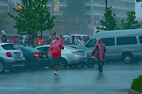 Unfortunately, the rally/demonstration was pretty much cancelled out by heavy thunderstorms accompanied by torrential downpours.