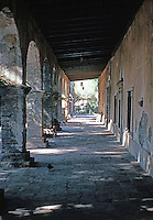 California Missions: Mission San Juan Capistrano.  The oldest building in CA. Photo '80.