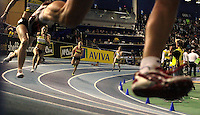 Athletics - UK Indoor Trials and Championships..Star of the 400m final at the EISS Sheffield ...
