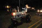 Russ Leggitt rides in the Christmas parade in Oxford, Miss. on Monday, December 3, 2012.