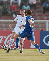 Jared Watts. Italy defeated the US Under-17 Men's National Team 2-1 in Kaduna, Nigera on November 4th, 2009.
