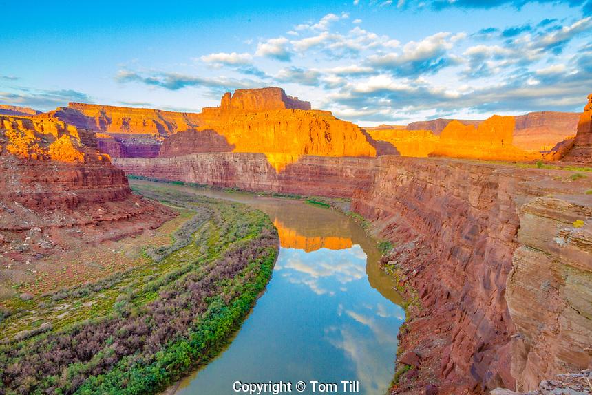 The Gooseneck of the Colorado River, Meander Canyon, Utah   Near Dead Horse Ppint, Coloraod River