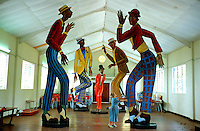 Luise Kimme - German Sculptor in Tobago